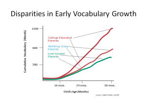 DisparitiesinEarlyVocabularyGrowth
